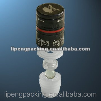 Various Types Of Assembling Plastic Inserts Pourer Nrf For Ropp Bottle Top  Closures For Blendy,Wine,Whisky,Rum - Buy Nrf,Plastic Inserts For Bottle