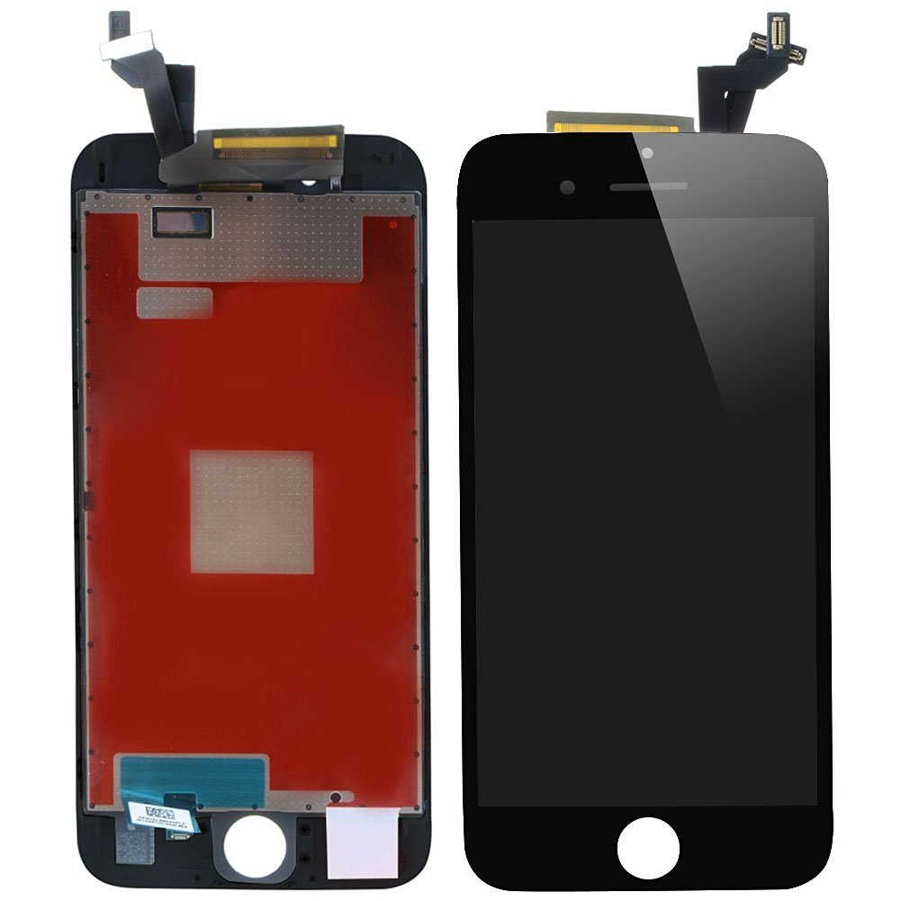 Repair Cracked LCD Display Touch Screen Digitizer Full Assembly Replacement for iPhone SE Black