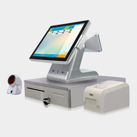 OOTB POS System /POS Terminal/POS Machine All-in-one Touchscreen 15