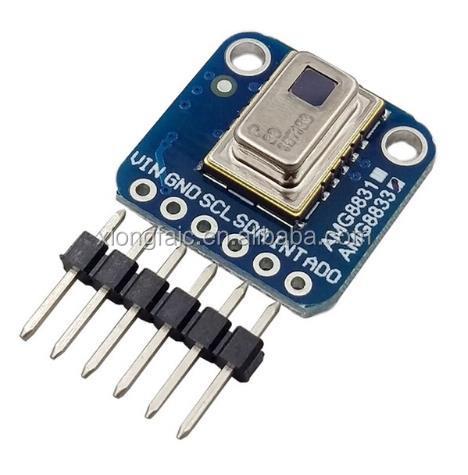 Amg8833 Ir 8*8 Thermal Imager Array Temperature Sensor Module 8x8 Infrared Camera Sensor Electronic Components & Supplies