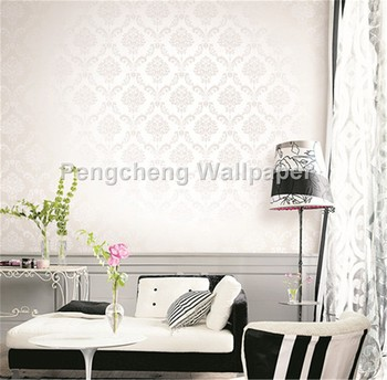 Paper Wall Tiles domask flower design wallpaper for bedroom hotel wall decor wall