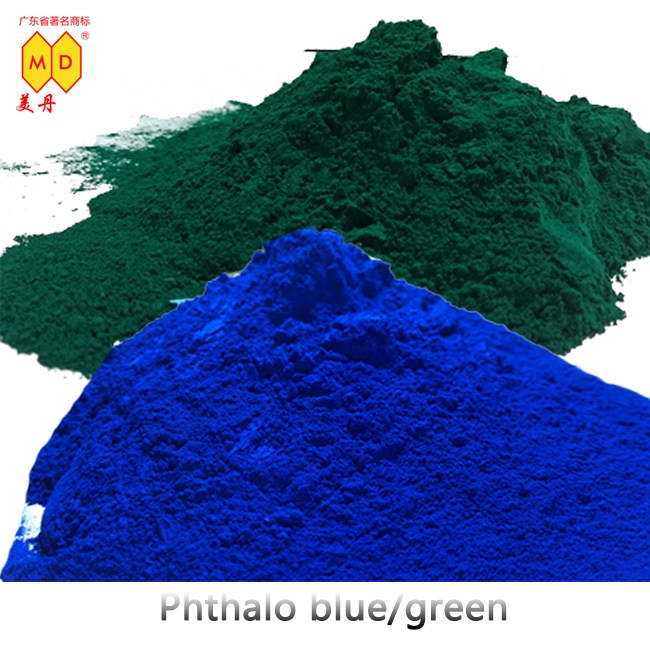 5319 organic green 7 pigment powder industrial grade phthalo blue and green <strong>colorant</strong> used for plastic