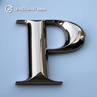 OEM manufacture laser cutting numbers custom 3d chrome letters