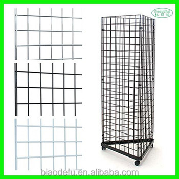 customized coating metal gridwall grid wall panel