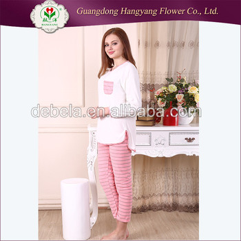 e922b6ca90 Top quality fancy dress women 100% polyester pajamas sleepwear cotton
