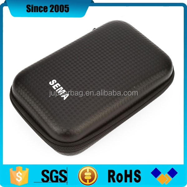 custom new black eva hard disk protect hard case product wifi
