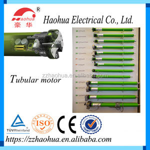AC Tubular Motor For Roller Shutter Awning Sunshade Blinds Curtain Garage Door And Projection Screen