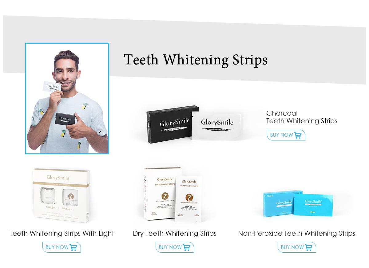 Glorie Glimlach Snel Resultaat Tanden Whitening Strips Non Peroxide Gel Whitening Tand Strips Groothandel Whitestrips