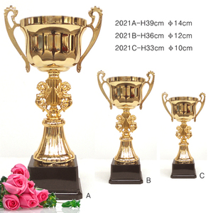 Crystal trophy world cup metal trophy plastic machine to make medal trophy cup