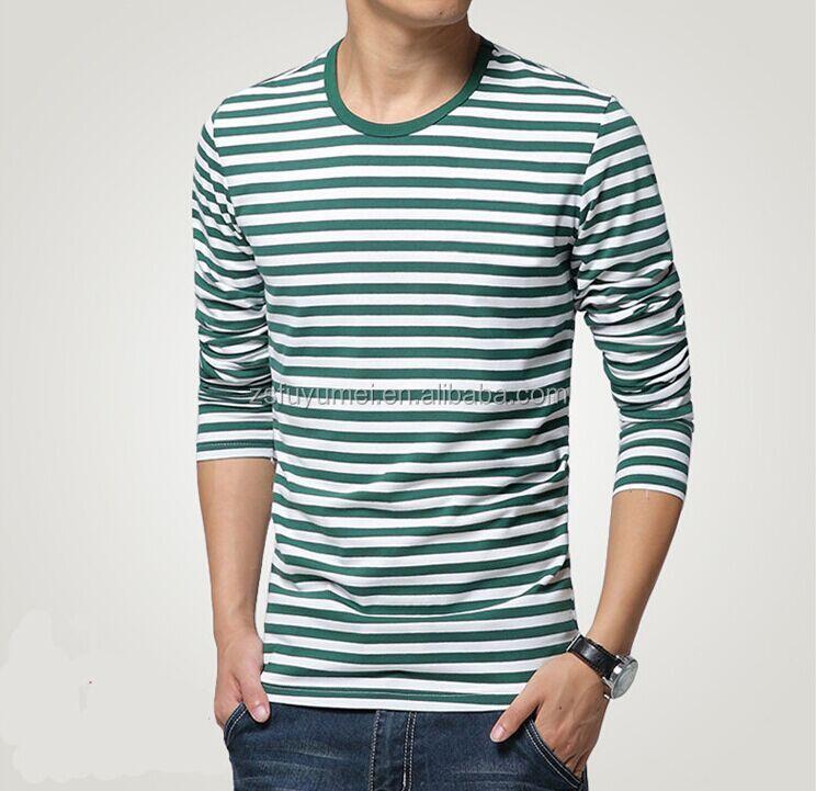 Custom Stripes Matching Mens O Neck Shirts Buy Mens