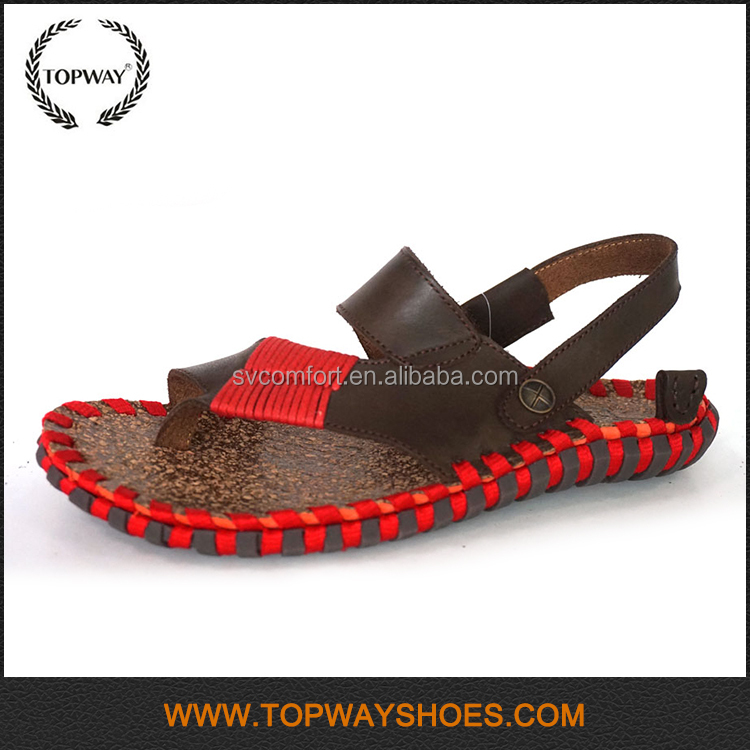 New Arrival colorful handmade flat interchangeable sandals for women
