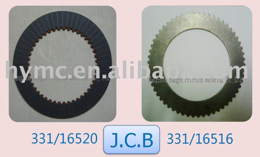 Jcb Friction Plate 331/16520 And 331/16516