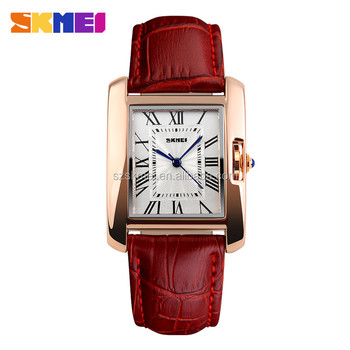 3 atm stainless steel watch gold plating alloy case wrist watch lady watches