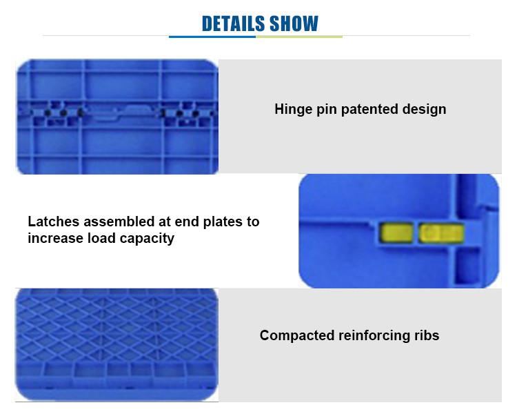 प्लास्टिक कारोबार बॉक्स भंडारण बॉक्स प्लास्टिक ढोना कंटेनर