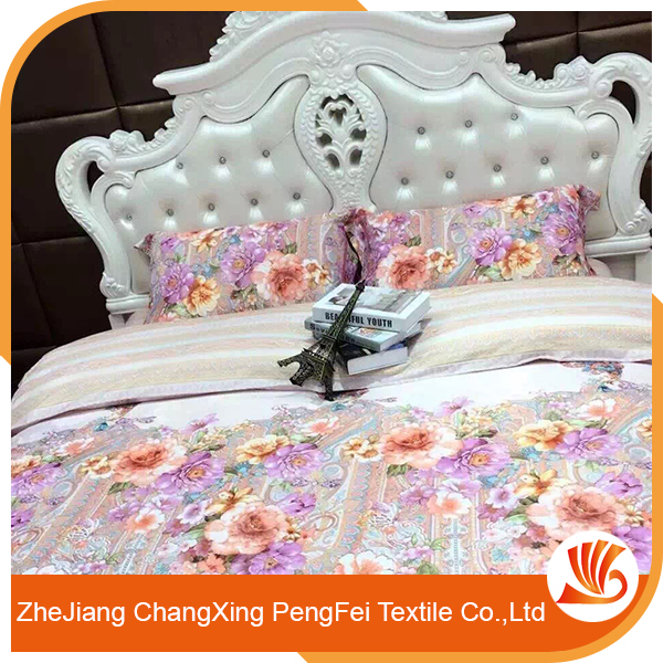 Elegant style full of modern flavor simple design hotel bedding linen