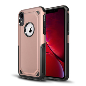 Hard Shield Combo TPU Bumper Rugged Shockproof Back Cover Case For iPhone xr 6.1