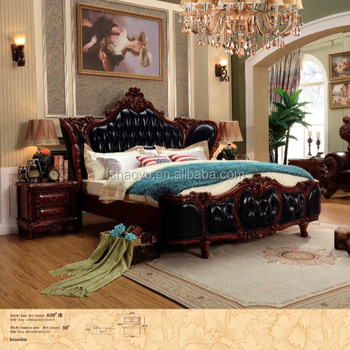 2016 Luxe Baroque Style Lit Double King Size Chambre Classique - Buy ...