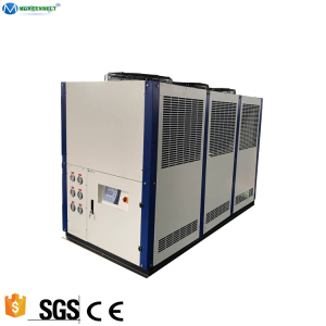 -5 Degree C 30HP Stainless Steel Heat Exchanger Plate Air Cooled Glycol Water Chiller For Beer