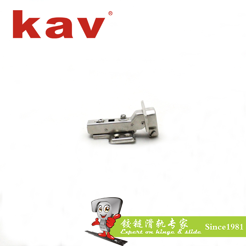one way clip on hinge 105 degree cabinet hinge for kitchen (XJKD135H)