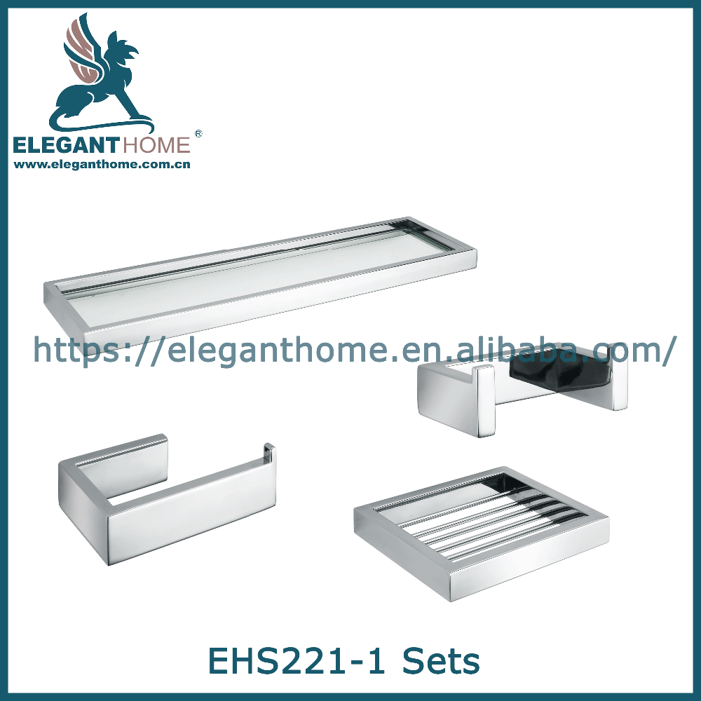 zamak furniture accessories stainless steel bathroom set