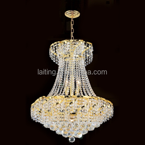 Traditional Lamp Crystal Chandelier