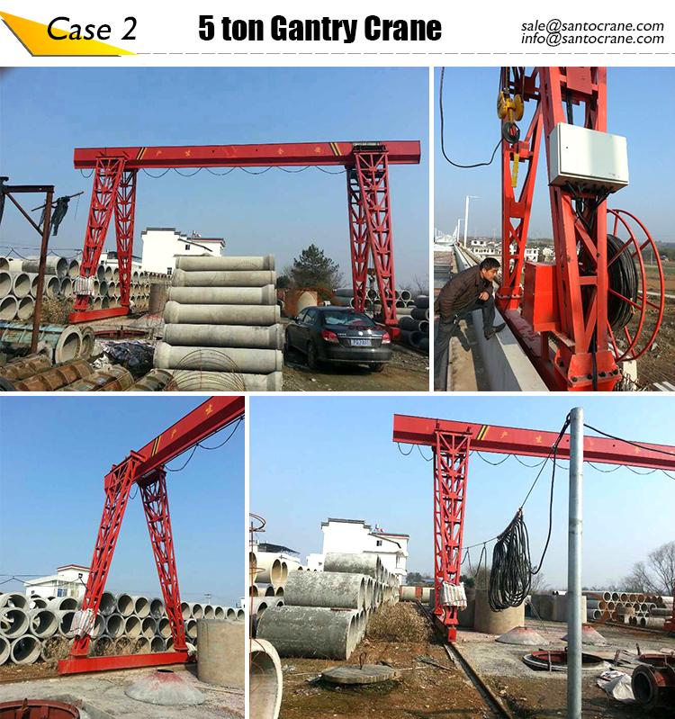 Jib Crane Usage : Steel lifting usage ton gantry crane double girder
