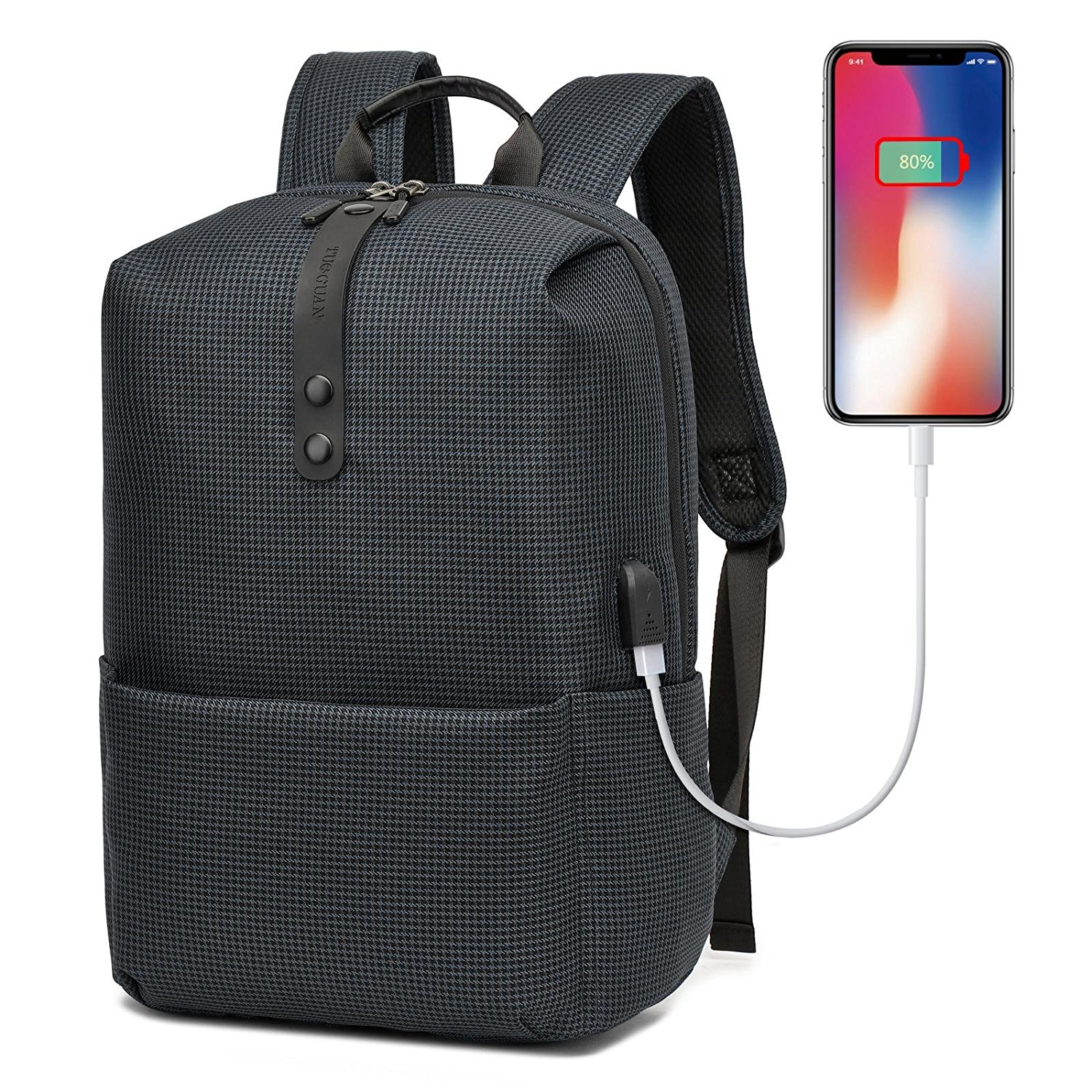 Get Quotations · GOHIGH Business Laptop Backpack College Backpack Business  Slim Laptop Backpack 8b38dddad