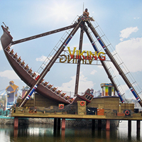 Theme Park Equipement Rides Super Swing And Tour Amusement Rides Pirate Ship For Sale