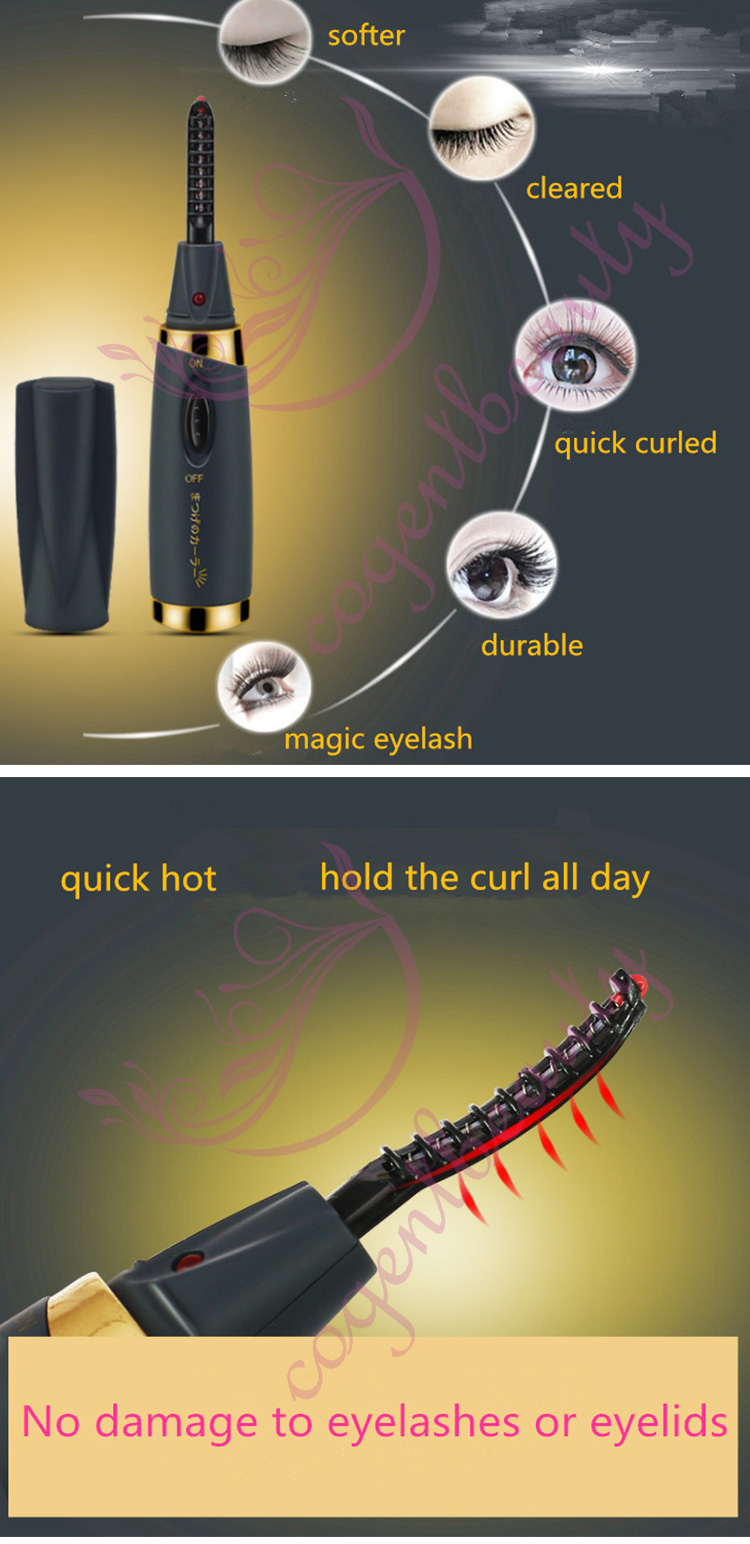 Private Label Electric Heated Eyelash Curler