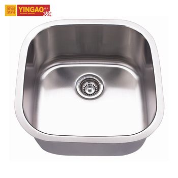 China Manufacturers Custom Size Single Bowl small stainless steel sink