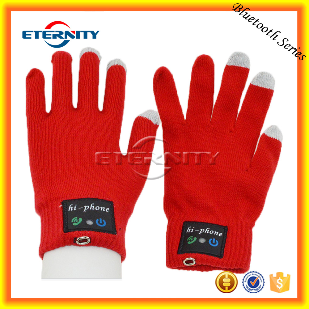 Promotional gift talking Bluetooth glove