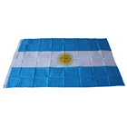 2018 Russia world cup custom polyester Argentina country flag