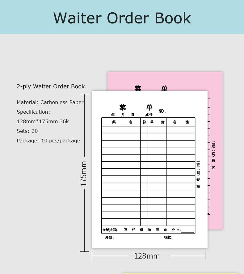Receipt Format Design Guest Check Bill Book Buy Receipt Format – Book Receipt Format