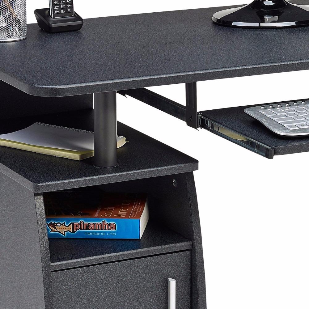 mdf computer desk keyboard drawer for laptop with cabinet buy computer desk keyboard drawer. Black Bedroom Furniture Sets. Home Design Ideas