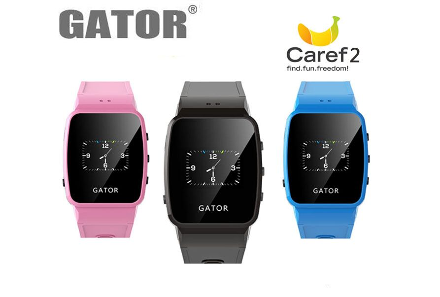 gps/ wifi assistant location lbs location mini tracking wrist watch for kids gator group