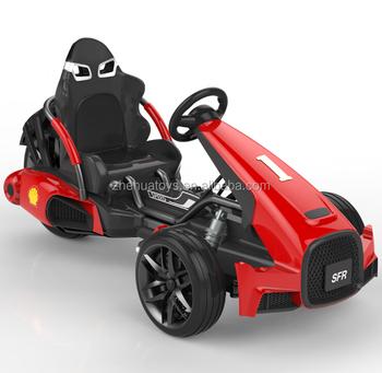 2017 nuevo de 12 voltios eléctrico niños racing go kart ir carros de