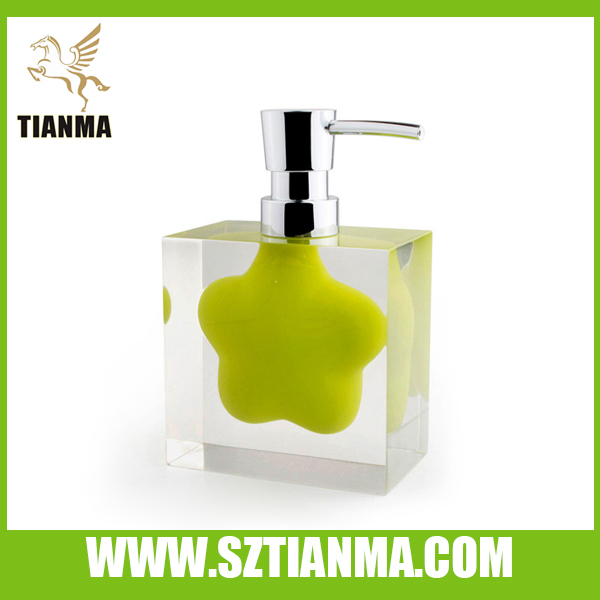 Best Acrylic Resin Liquid Soap Dispenser from Tianma