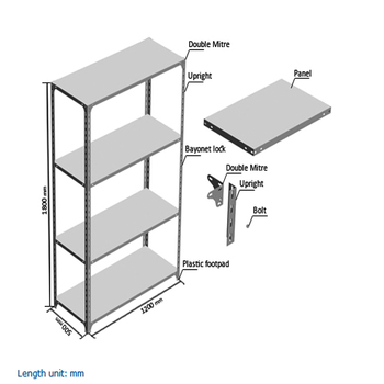 Light Duty Slotted Angle Rack Pallet Racking System Buy