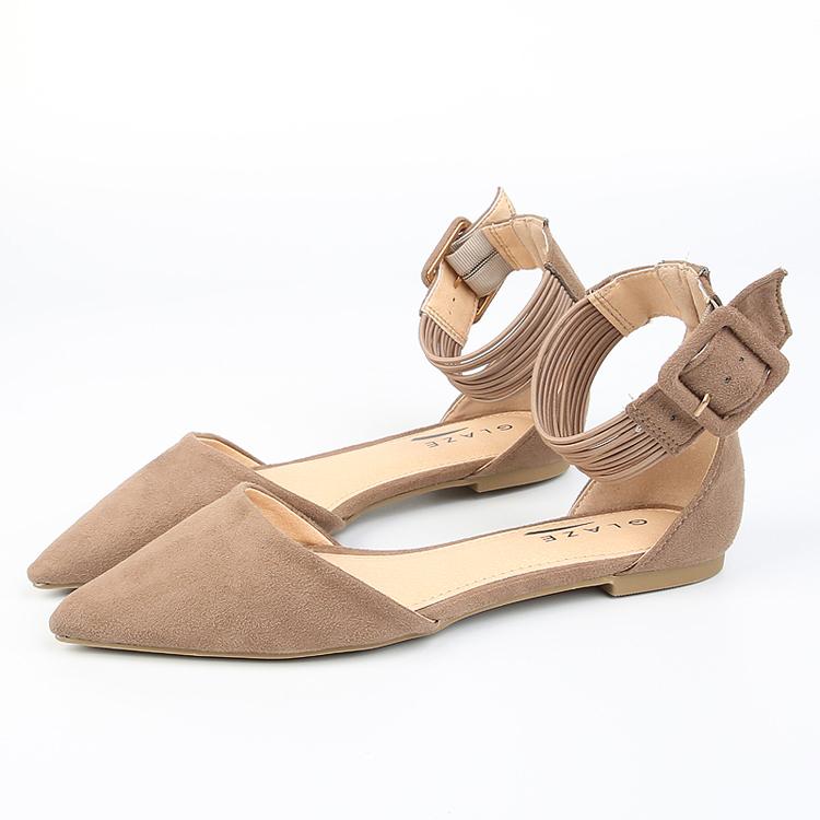 Hot fashion ladies beautiful petite flat ballerina shoes