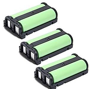 YCM 2.4V 1600mAh Cordless Home Phone Battery For Panasonic HHR-P513 KX-TG2238 TG2248 TG2258 GE 26423 86423 Empire CPH489 Dantona BATT-513 BATT513 3 Pack