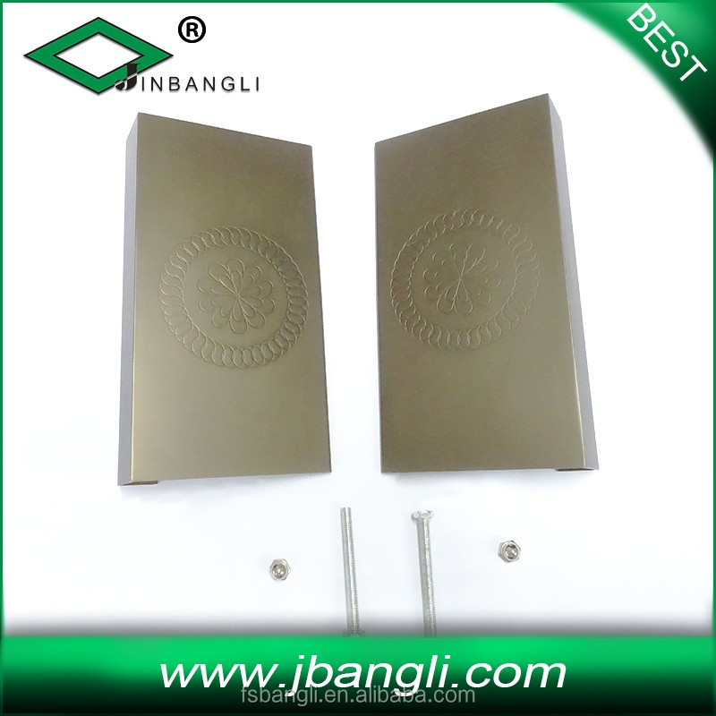 Hot sale door handle luxury door handle heavy duty aluminium door handle