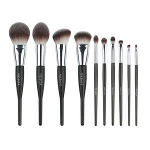 Kangmei beauty care competitive price 10 piece professional private label makeup brush set