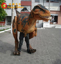 Walking With Dinosaur Costume for Show dinosaur mascot costume