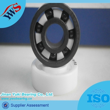 High Precision Ceramic Skate Bearing 609 6203 6005 16x8x5 6202 ...