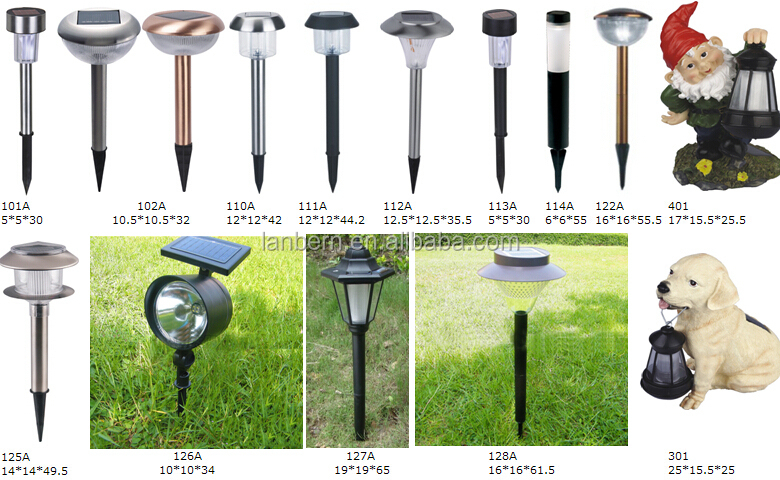 hot ing small plastic outdoor garden pathway yard pillar light led solar light