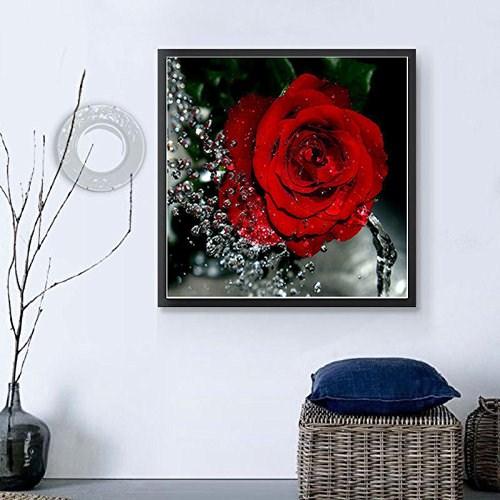 Tuval üzerine Iç Boyama çiçekler Boyama Güzel Gül çiçek Duvar Kağıdı Resimleri Buy Iç Boyamatuval üzerine çiçek Boyamagüzel Gül çiçekli Duvar