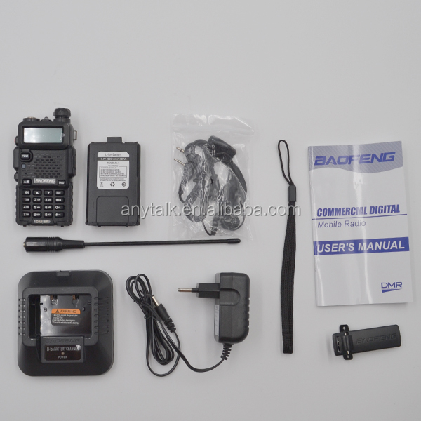 Baofeng DM-5Rplus 2 band dmr radioamador digital