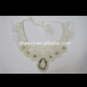 Fashion pearl lace detachable collar/necklace 2014newest for wedding