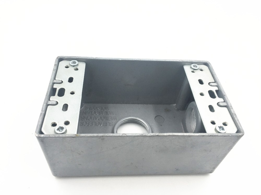 Electrical steel junction box type outlet boxes - china Conduit ...