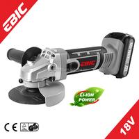 EBIC OEM Power Tools 18V Li-ion Cordless Angle grinder